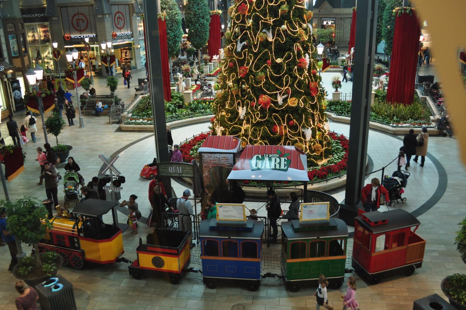 Centre commercial Noël